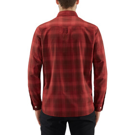 Haglöfs Tarn Flannel Langarmhemd Herren maroon red/brick red